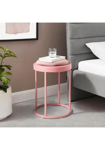 COUCH♥ Hocker »Steh bei mir«, mit abnehmbarer Sitzfläche, COUCH Lieblingsstücke kaufen