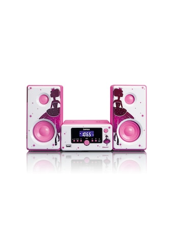 Micro - HiFi Anlage, Lenco, »MC - 020 Pink« kaufen
