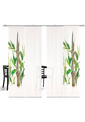 emotion textiles Schiebegardine »Bambus HA«, HxB: 260x60, inkl. Befestigungszubehör kaufen