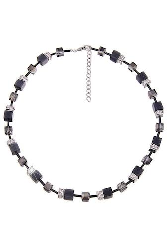 leslii Collier »Premium Quality Glitzer-Würfel in Schwarz, 210115759«, mit Glas- und... kaufen
