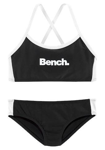 Bench. Bustier-Bikini, mit gekreuzten Trägern kaufen