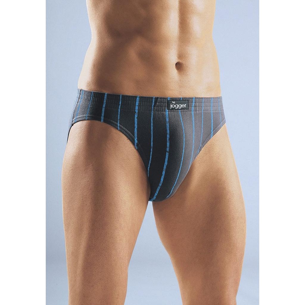 le jogger® Slip, mit kontrastfarbenen Streifen