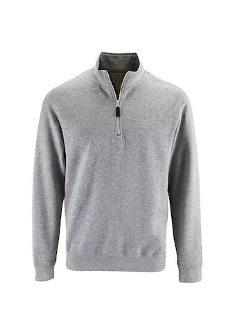 SOLS Stehkragenpullover »Herren Stan Kontrast Zip Sweatshirt« kaufen