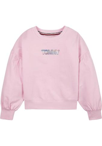 TOMMY HILFIGER Sweatshirt, mit extra weiten Ärmeln kaufen