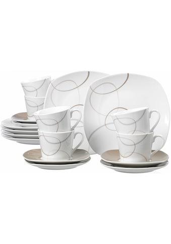Ritzenhoff & Breker Kaffeeservice »Alina«, (Set, 18 tlg.), Spülmaschinengeeignet kaufen