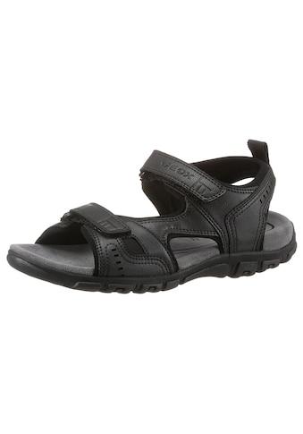 Geox Sandale »UOMO SANDAL STRADA«, mit praktischen Klettverschlüssen kaufen
