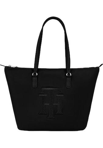 Tommy Hilfiger Shopper »POPPY TOTE TH«, mit grossem TH Logodruck kaufen