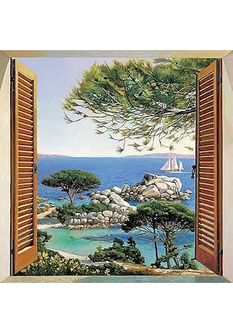 Home affaire Deco-Panel »A. D. Missier - Finestra sul Mediterraneo« kaufen