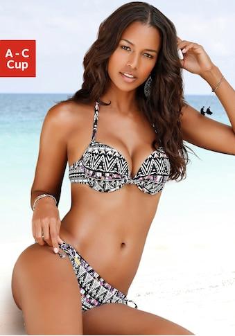 LASCANA Push-Up-Bikini-Top »Belize«, mit integrierter Verstärkung kaufen