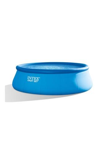 Intex Rundpool »Easy Set 457 x 122 cm«, Filterpumpe, Sicherheitsleiter, Bodenplane und... kaufen