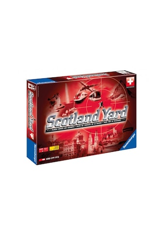 Strategiespiel, Ravensburger, »Scotland Yard Swiss Edition« kaufen