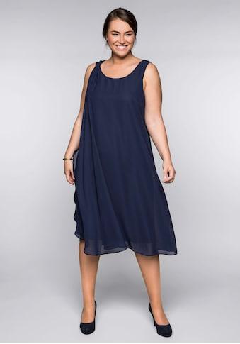 Sheego Partykleid, in figurumspielender Passform kaufen