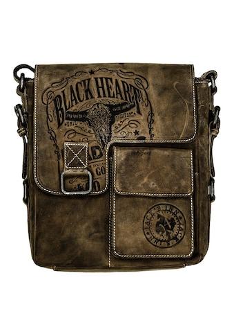 JACK'S INN 54 Umhängetasche »Bad Ass«, aus Leder, immer individuell und garantiert ein... kaufen