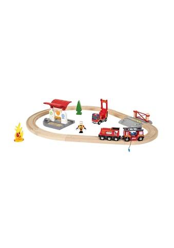 BRIO® Spielzeug-Eisenbahn »Feuerwehr Set« kaufen