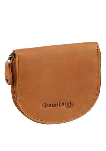 GreenLand Nature Geldbörse, aus hochwertigem Leder kaufen