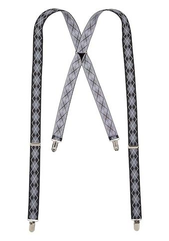 J.Jayz Hosenträger, (1 St.), mit Clipverschluss, Rauten Muster, Verstellbar kaufen