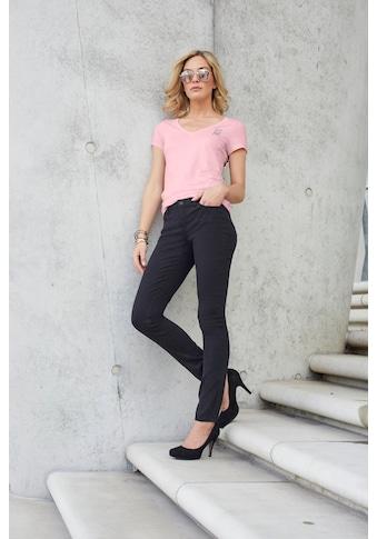 H.I.S Slim-fit-Jeans »Regular-Waist«, Nachhaltige, wassersparende Produktion durch OZON WASH kaufen