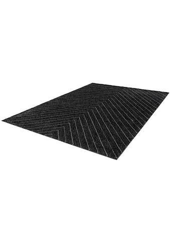 LALEE Teppich »Swing 102«, rechteckig, 14 mm Höhe, Wohnzimmer kaufen