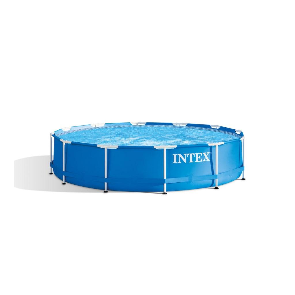 Intex Schwimmbecken »Metal Frame Set 366 x 76 cm«