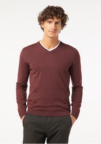 Pierre Cardin V-Ausschnitt-Pullover »Voyage«, V-Neck Feinstrick kaufen
