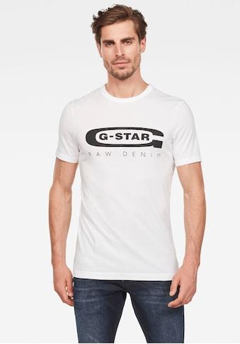 G-Star RAW Rundhalsshirt »Graphic 4« kaufen