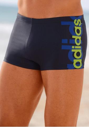 adidas Performance Boxer-Badehose, mit grossem Logoschriftzug kaufen