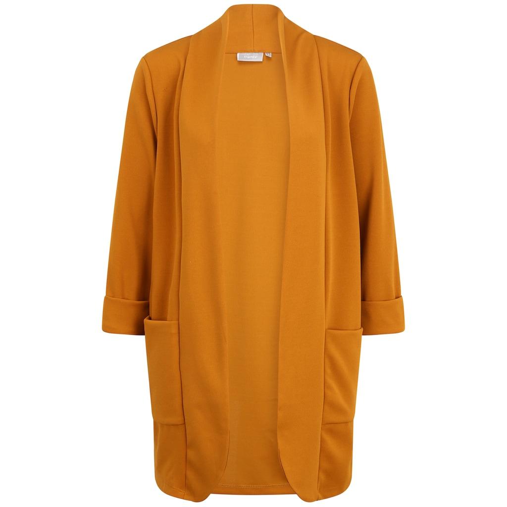 fransa Jackenblazer »FXTIDUSA 1 Cardigan«, Kurzblazer mit Taschen