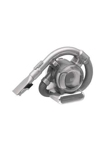 Black + Decker Akku-Handstaubsauger »Dustbuster Flexi Silberfarben« kaufen
