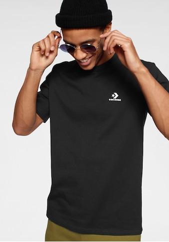 Converse T - Shirt »MENS EMBROIDERED STAR CHEVRON LEFT CHEST TEE« kaufen