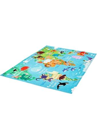 Obsession Kinderteppich »My Torino Kids 233«, rechteckig, 10 mm Höhe, mit... kaufen