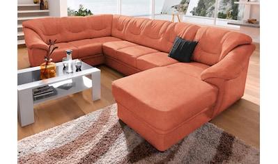 sit&more Wohnlandschaft, wahlweise mit Bettfunktion, inklusive Federkern, frei im Raum... kaufen