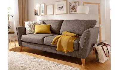Home affaire 3-Sitzer »Marseille«, in skandinavischem Stil, in 3 Bezugsqualitäten, mit... kaufen