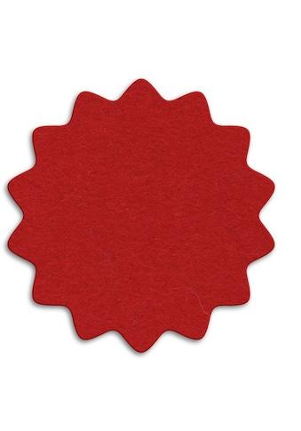 Wall-Art Tischdecke »Rote Weihnachtsbaumdecke Floral« kaufen
