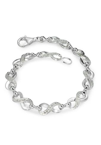 Armband Silberfarben und Zirkonias kaufen