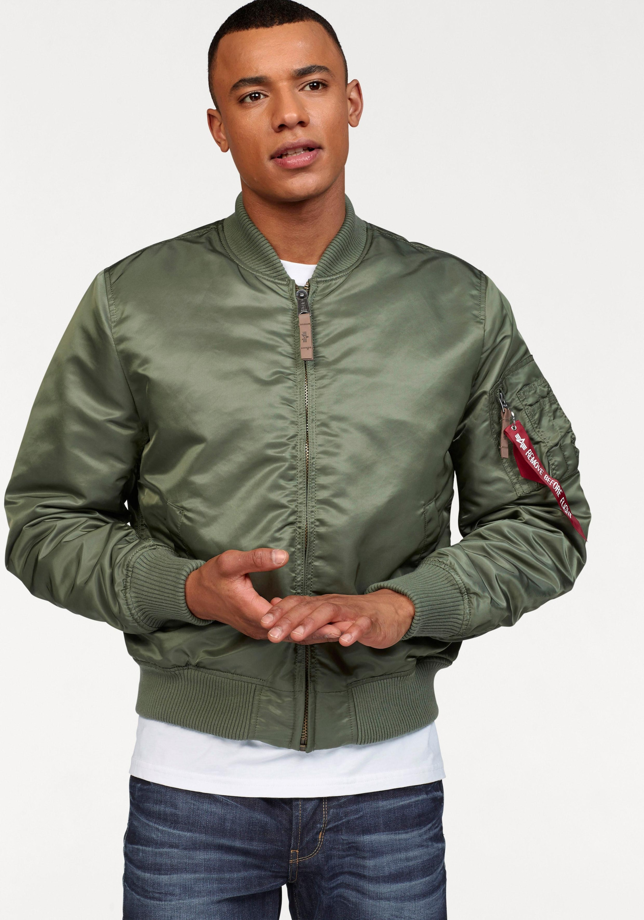 Image of Alpha Industries Bomberjacke »MA-1 gefüttert«