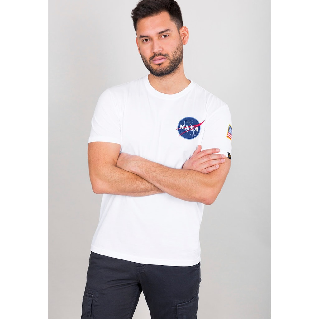 Alpha Industries Rundhalsshirt »Space Shuttle T«