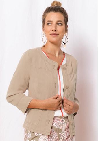 bianca Kurzblazer »MIRANDA«, im soften Leinenmix kaufen