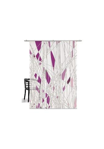emotion textiles Schiebegardine »Labyrinth«, HxB: 260x60, mit Befestigungszubehör kaufen