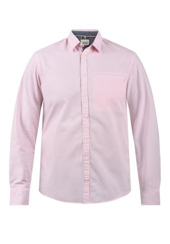 Blend Langarmhemd »20709670«, Hemd mit Knopfleiste kaufen
