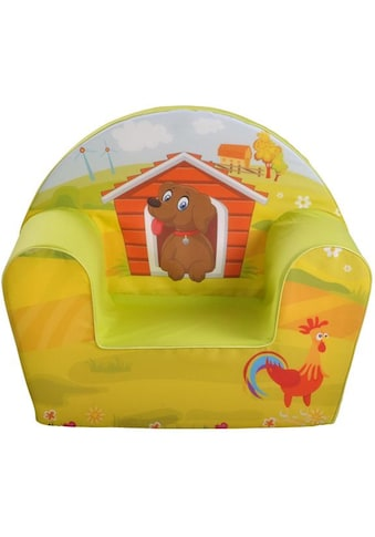Knorrtoys® Sessel »Dog on a farm«, Made in Europe kaufen
