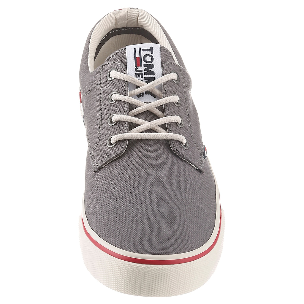 Tommy Jeans Sneaker »TOMMY JEANS TEXTILE SNEAKER«, mit Logostickerei