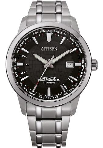 Citizen Funkuhr »Titan Funkuhr, CB0190-84E« kaufen