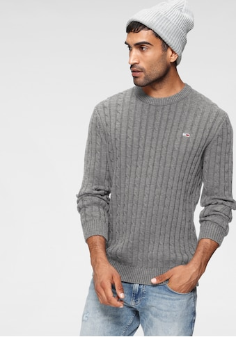Tommy Jeans Strickpullover »TJM ESSENTIAL CABLE SWEATER« kaufen