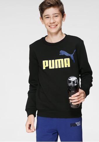 PUMA Sweatshirt »ESS+ 2 Col Big Logo Crew FL B« kaufen
