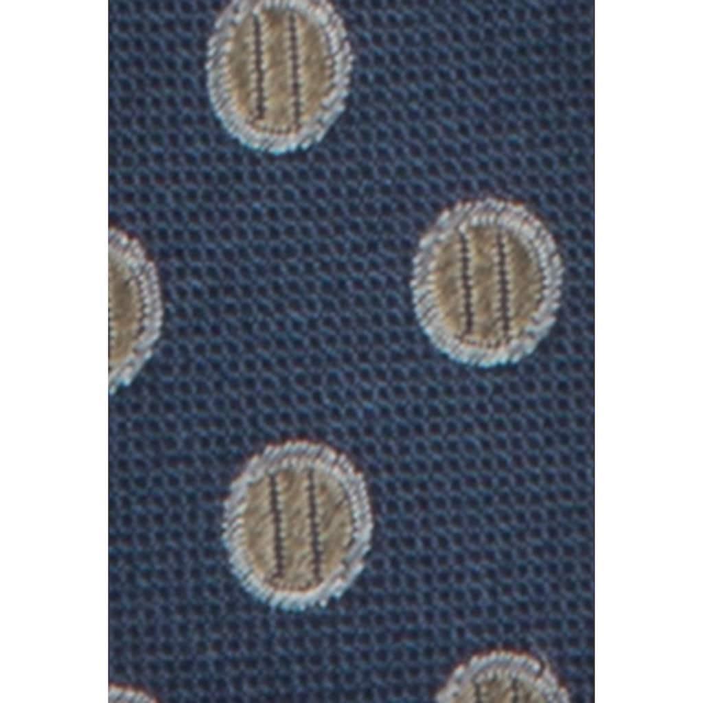 seidensticker Krawatte »Slim«, Schmal (5cm) Punkte