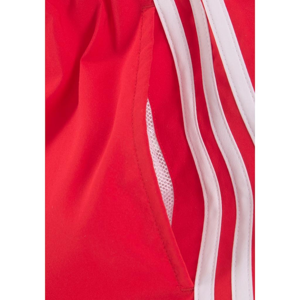 adidas Performance Badeshorts, im klassischen Streifendesign