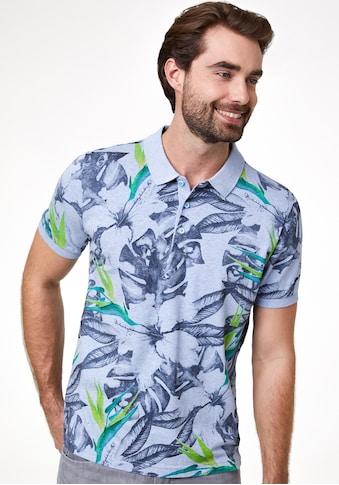 Pierre Cardin Poloshirt Allover-Print kaufen