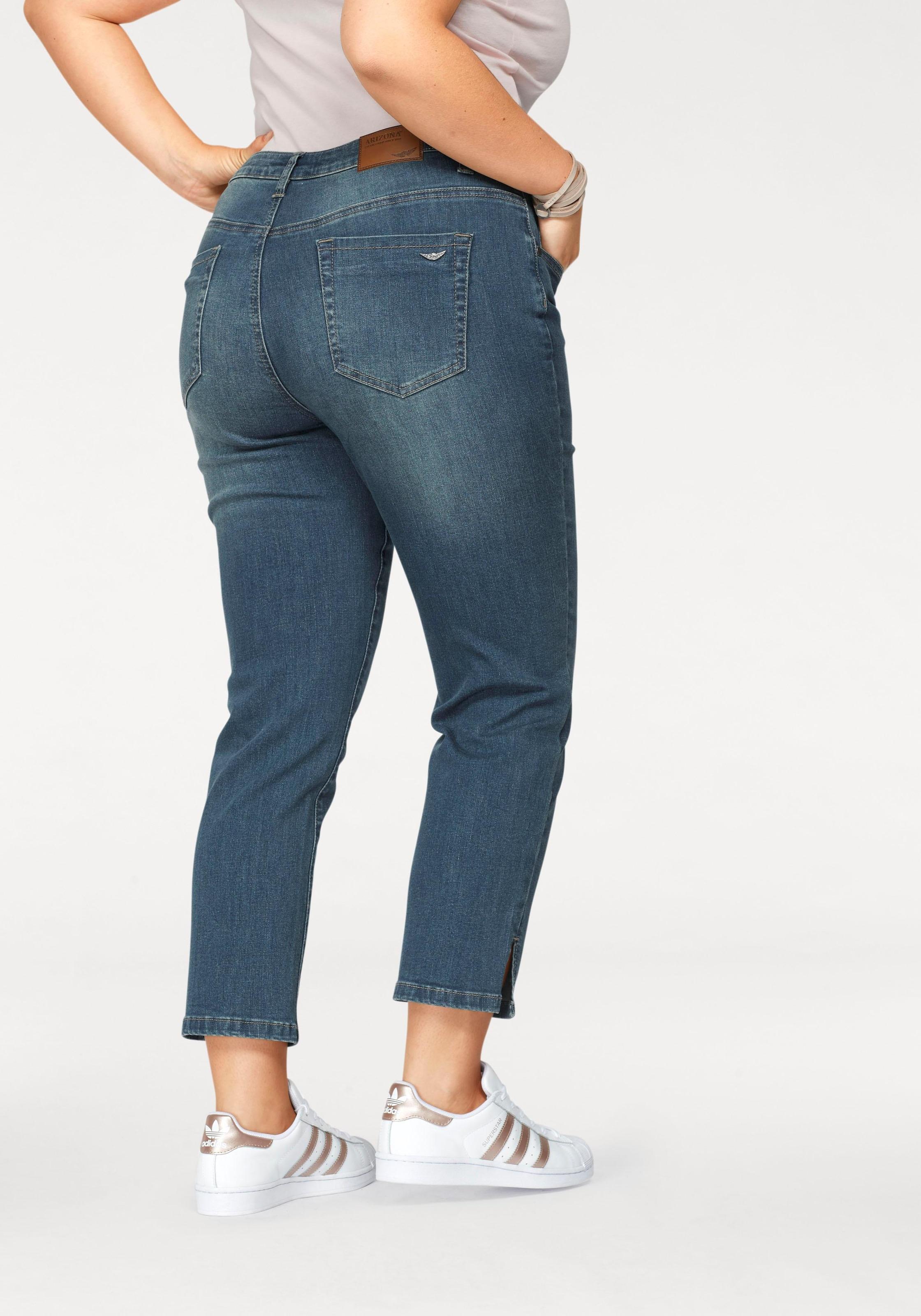 Image of Arizona 7/8-Jeans »seitliche Schlitze am Saum«