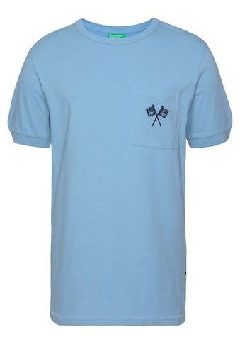 United Colors of Benetton Print-Shirt, mit Popeye-Print auf dem Rücken kaufen