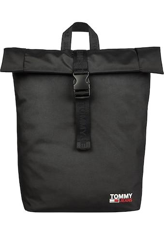 Tommy Jeans Cityrucksack »TJM CAMPUS ROLL TOP«, mit viel Stauraum kaufen
